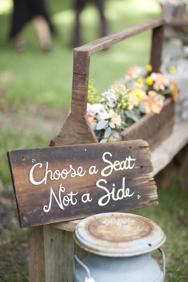choose-a-seat-not-a-side-wedding-ceremony