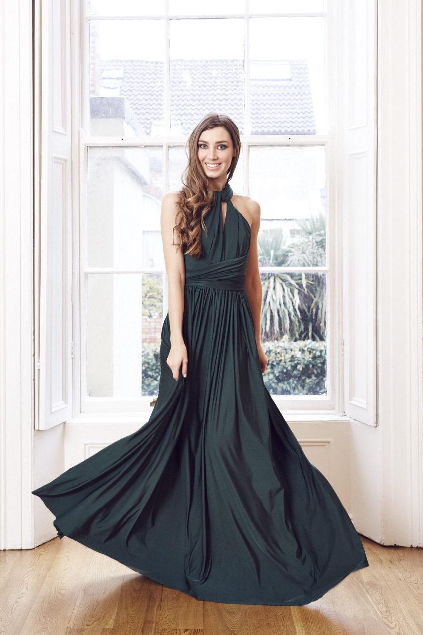 Best Multi Wrap Bridesmaid Dresses on the Market 2015 | weddingsonline