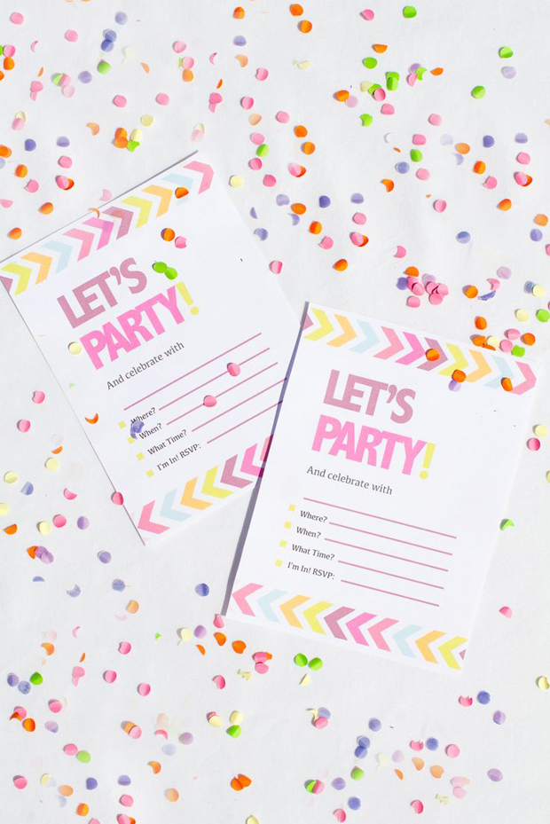 Fun Hen Party Invite