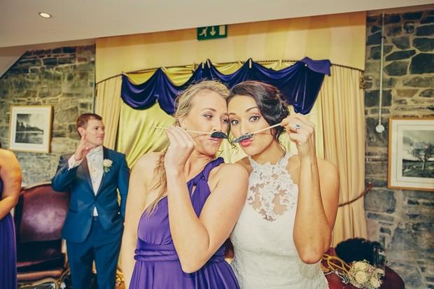 fun-wedding-photos-mustache-bride