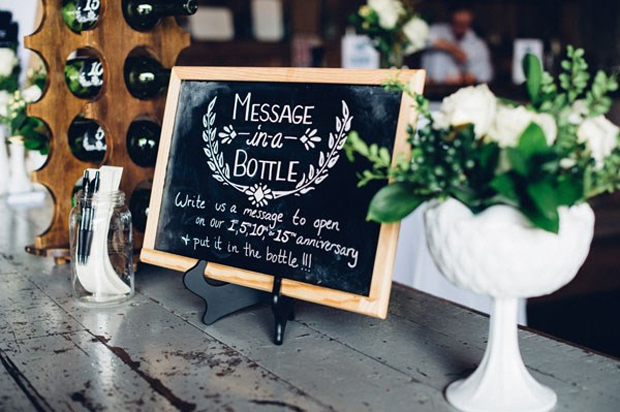 15 Creative Ways to Use Bottles in Your Wedding Decor | weddingsonline