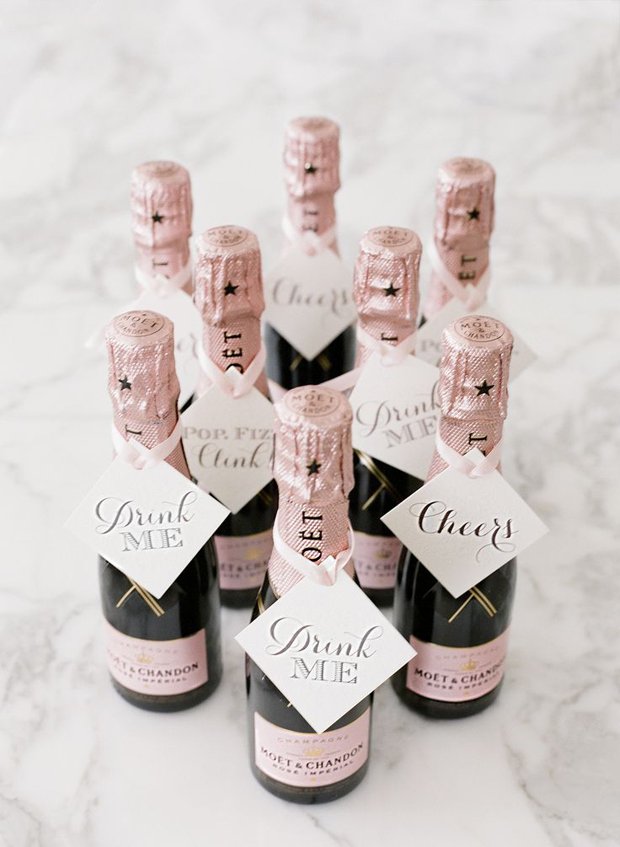 Mini Champagne Favours Hen Party