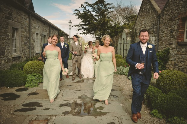 mint-green-wedding-party-ballymagarvey-village