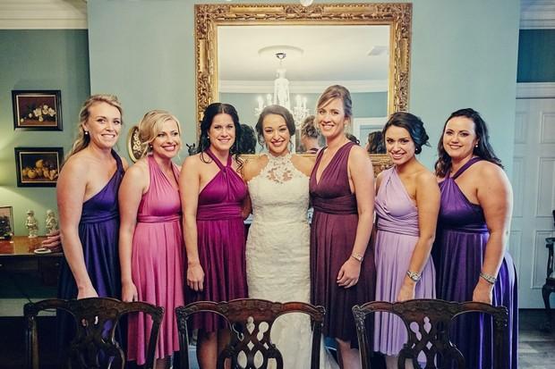 mis-matched-purple-jewel-bridesmaids-dresse-multi-way