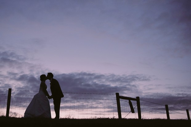 nighttime-silhouette-wedding-photograph-couple (1)