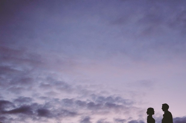 nighttime-silhouette-wedding-photograph-couple (2)