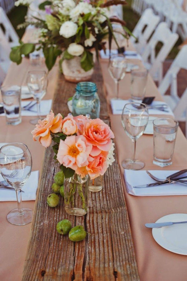 plank-of-wood-wedding-table-runner