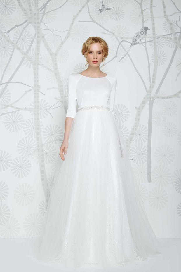 Sadoni Wedding Dress Collection 2016 Modern Minimal