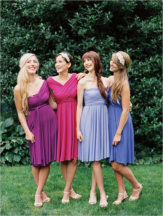 Dessy twist wrap dress long uk