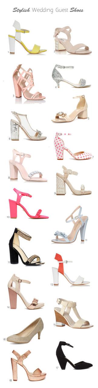 Stylish Wedding Guest Shoes