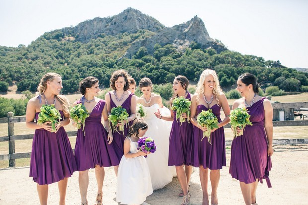 Best Multi Wrap Bridesmaid Dresses On The Market 2015