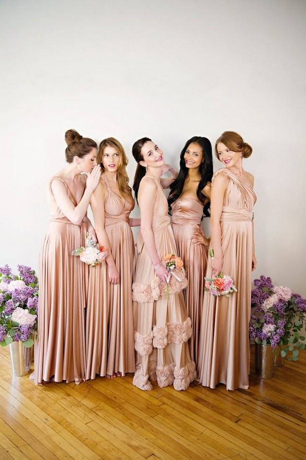 Best Multi Wrap Bridesmaid Dresses On The Market 2015