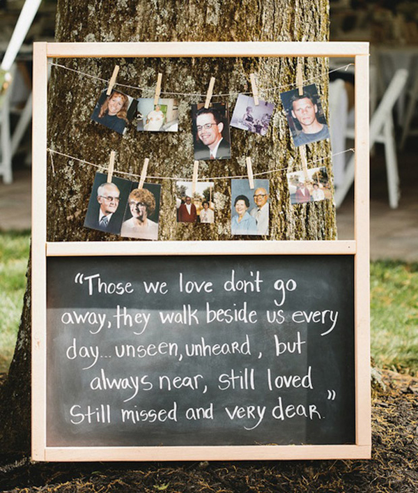 Wedding Family Picture Guide: 14 Beautiful Wedding Ceremony Sign Ideas