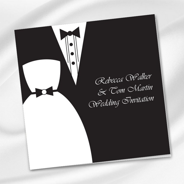 Black Tie Wedding Invitation Wording: 30 Fabulous Wedding Invitations To Suit Every Style Of