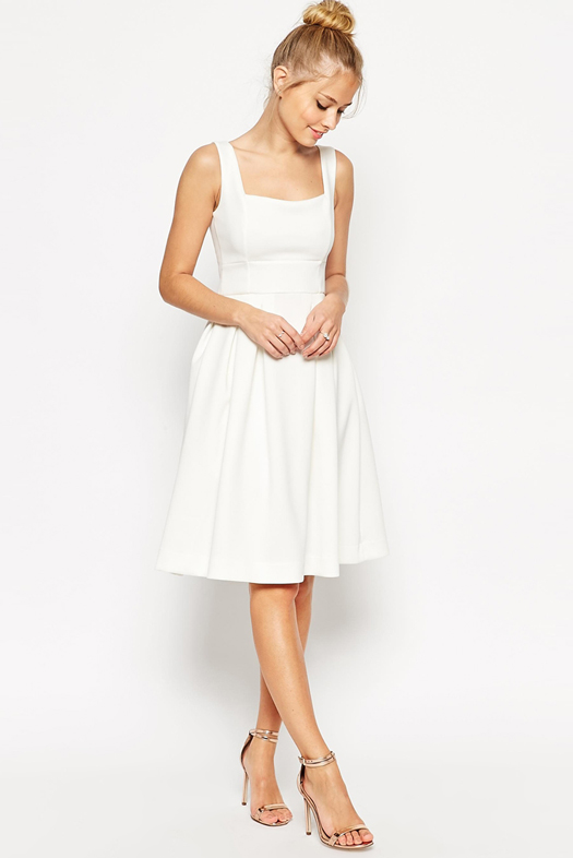 asos-white-bridesmaid-dress