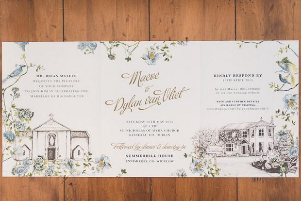 beautiful-illustrated-wedding-invitation-summer-ireland-appleberry-press