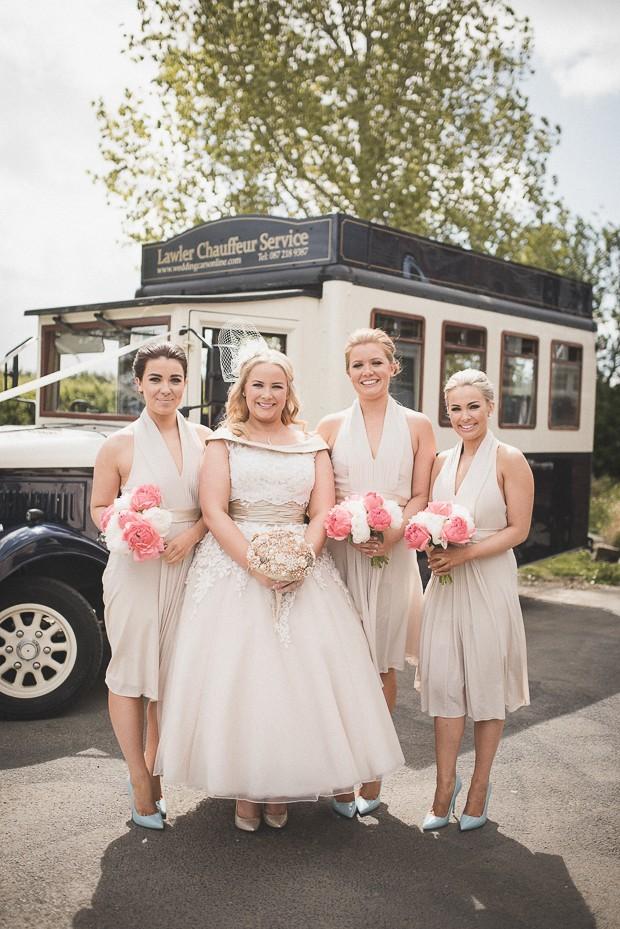 bridesmaids-nude-tea-length-dress-halter-ireland