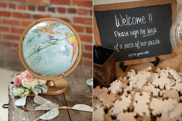 15 creative wedding guest book ideas pamela mahon weddings online