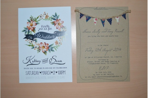 Amazing Floral Wedding Invite Invites By Jen