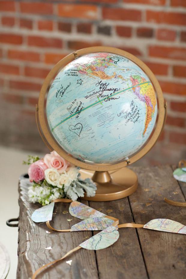 globe-wedding-guest-book