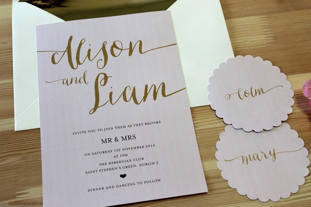 Fonts For Wedding Invitations: 30 Fabulous Wedding Invitations To Suit Every Style Of