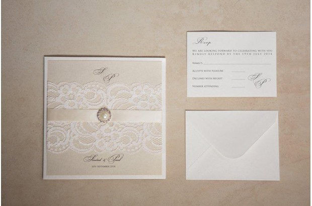 gold-ivory-lace-invite-exlcusively-yours