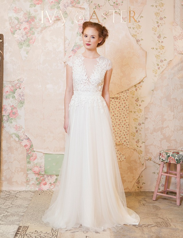 Ivy-and-aster-spring-2016-applique-lace-wedding-dress-summer