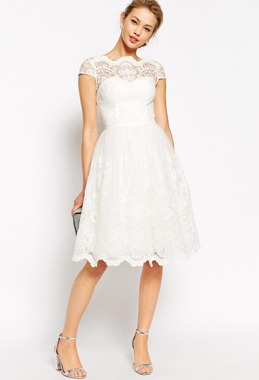 lace-white-bridesmaid-dress-asos
