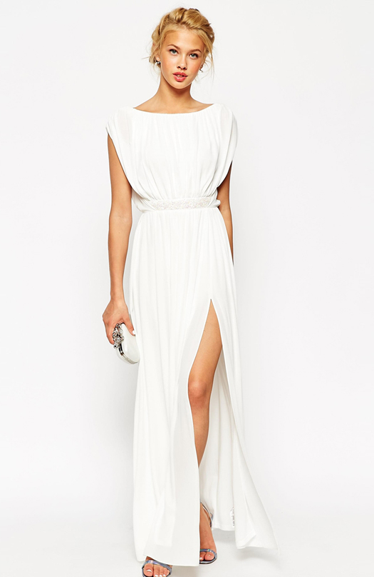 long-white-bridesmaid-dress-with-belt-asos