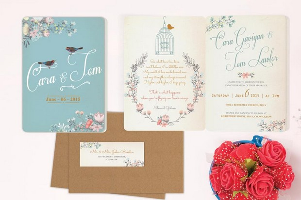 30 Fabulous Wedding Invitations to Suit Every Style of Couple