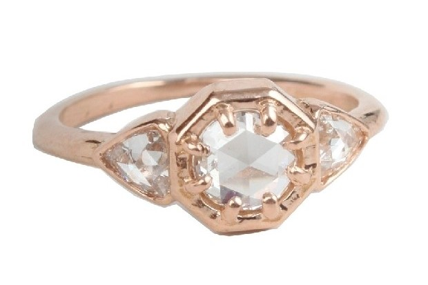 modern-engagement-ring-designers-lauren-wolf-18ct-rose-gold-catbird