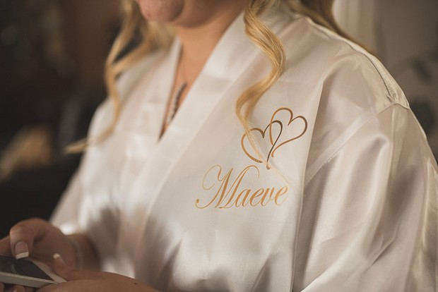 personalised-heart-silk-wedding-robe-gold-cream