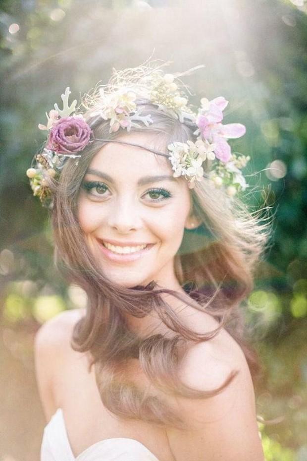 summer-wedding-hair-down-floral-crown-curl