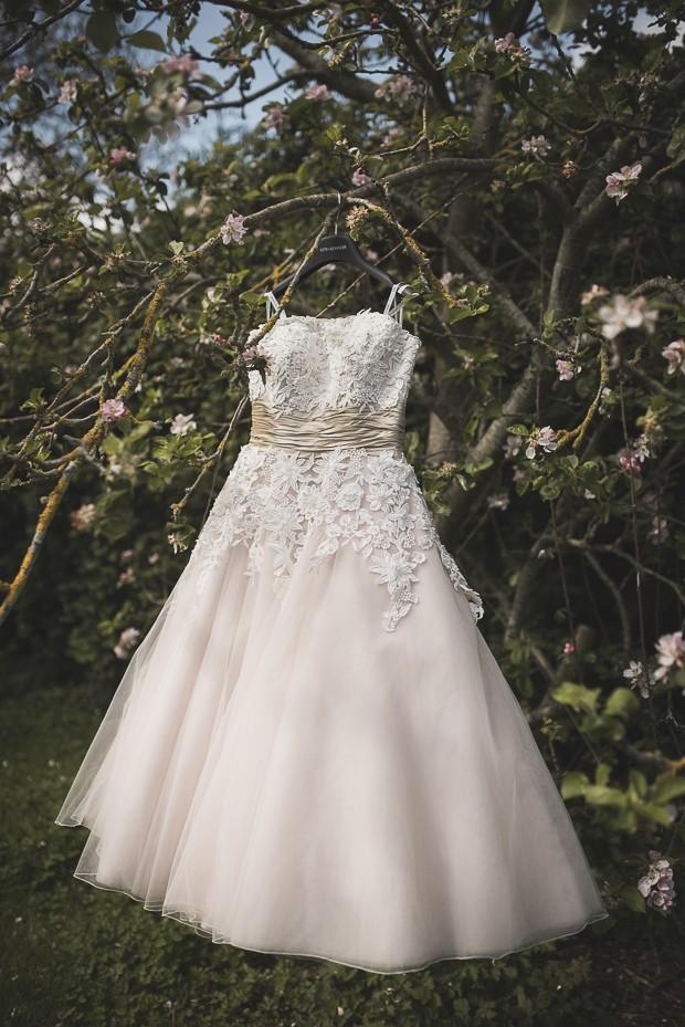 tea-length-justin-alexander-wedding-dress-real-bride