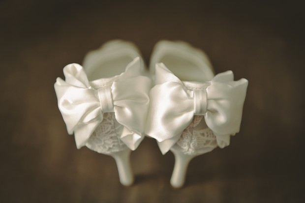 white-bow-ribbon-back-wedding-shoes-pretty