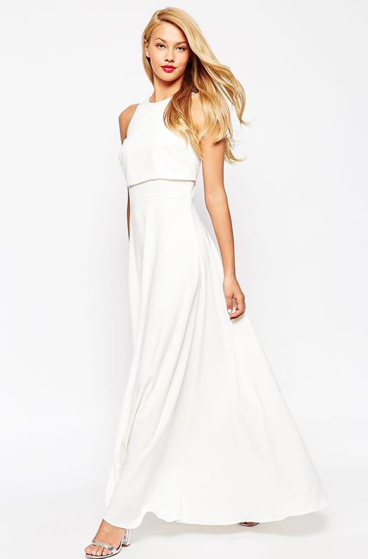 Asos white dress image