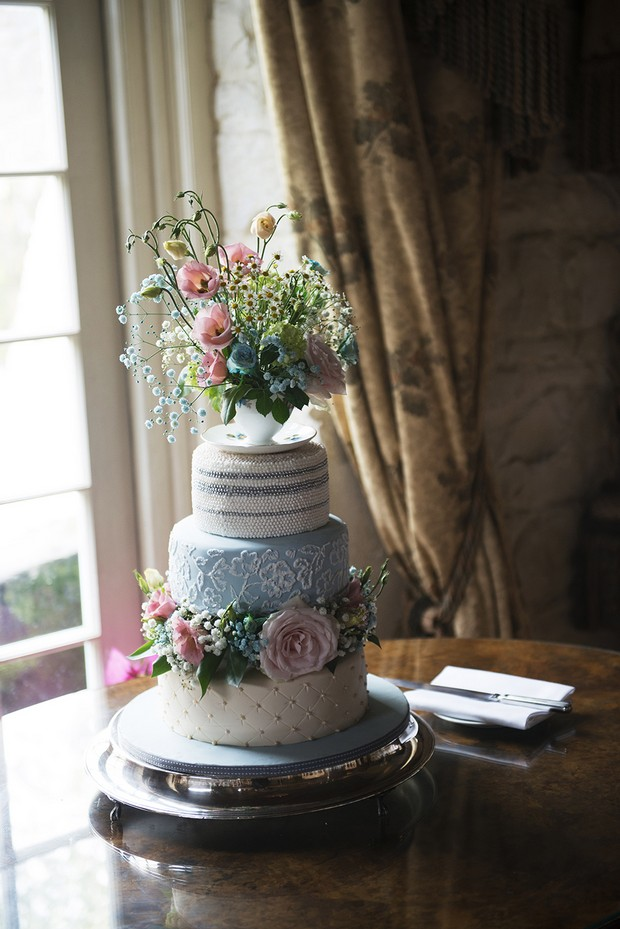 baby-blue-pearl-tea-party-wedding-cake