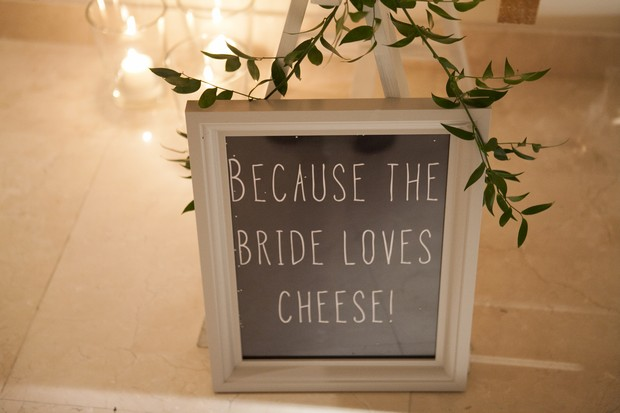becasue-the-bride-loves-cheese-sign-real-wedding-dubai-UAE