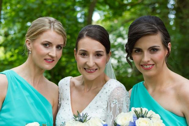 bride-and-bridesmaids-real-wedding-kerry