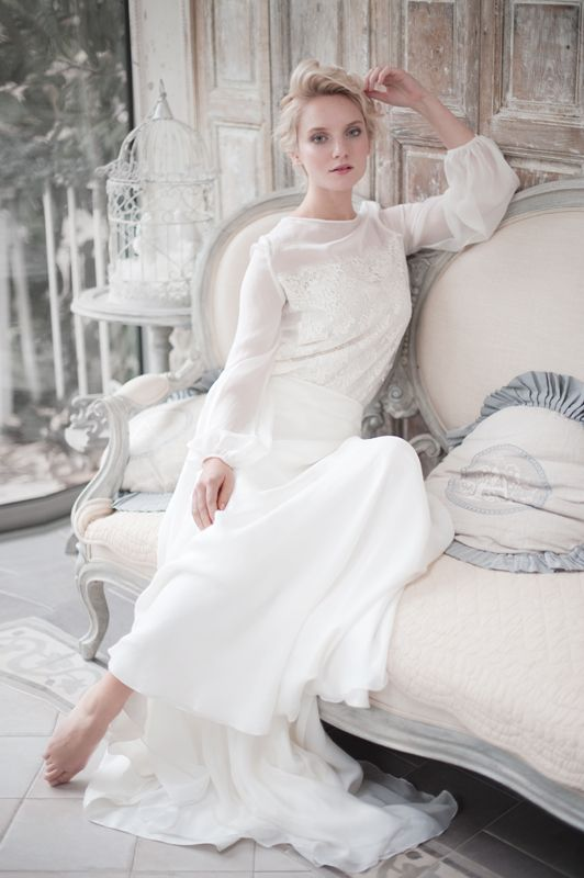 5 Fabulous French Designers for the Effortlessly Chic Bride ...