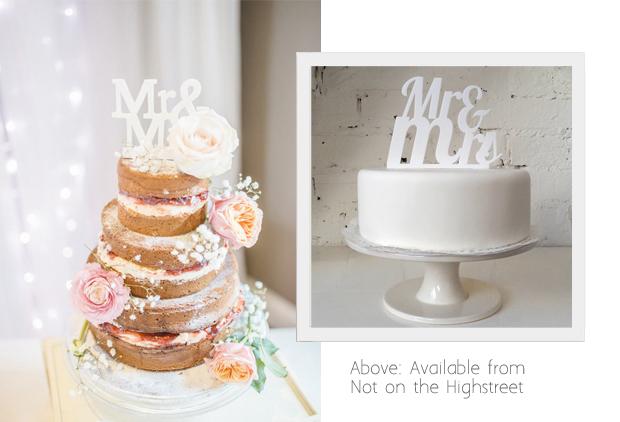 11 Awesome Wedding Cake Toppers | weddingsonline