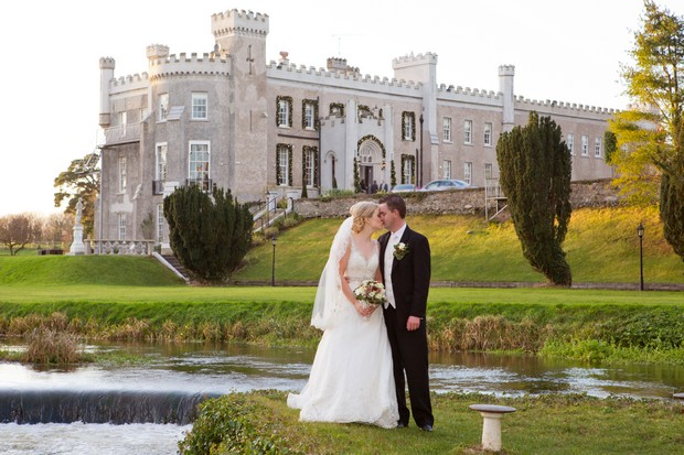 a romantic winter wedding at bellingham castle