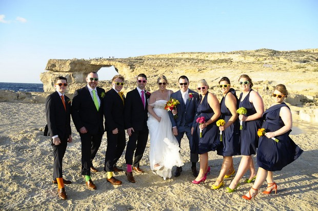 real-wedding-malta-bridal-party