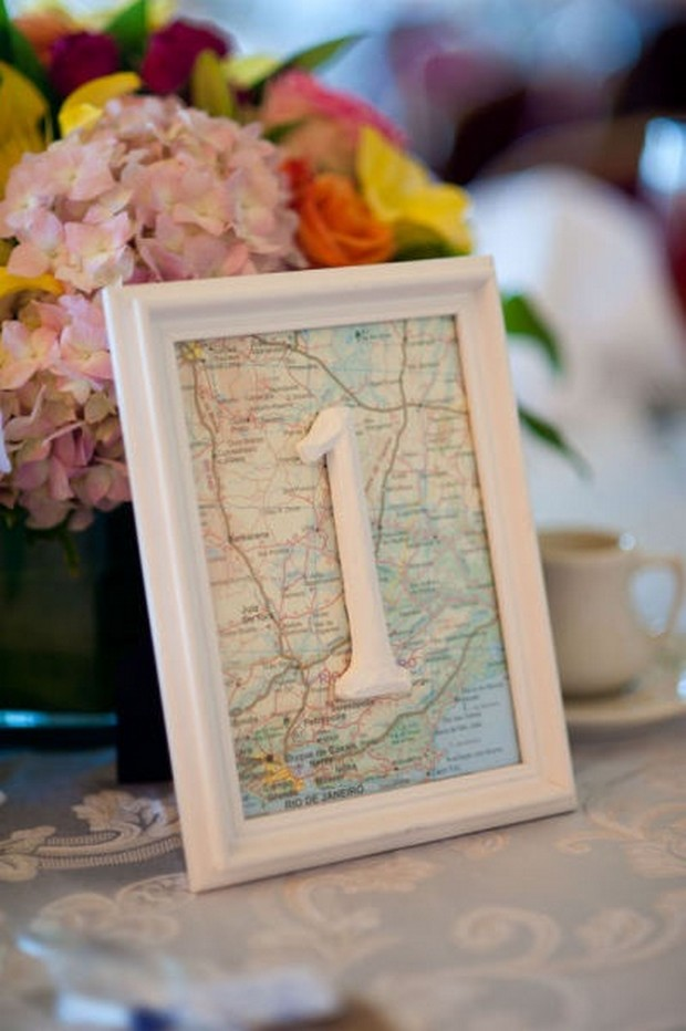 travel-themed-wedding-decor-ideas-table-number-maps