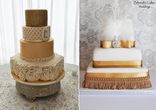 wedding-cakes-ireland-gold