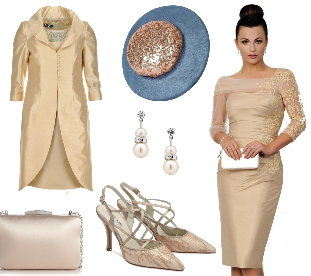 Gold Mother of the Bride Dress Irresistible