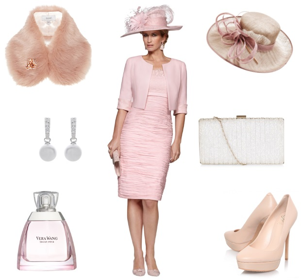 Pink Mother of the Bride Dress Jacket Condici