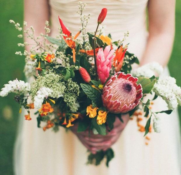 Autumn Wedding Bouquet Ideas 1