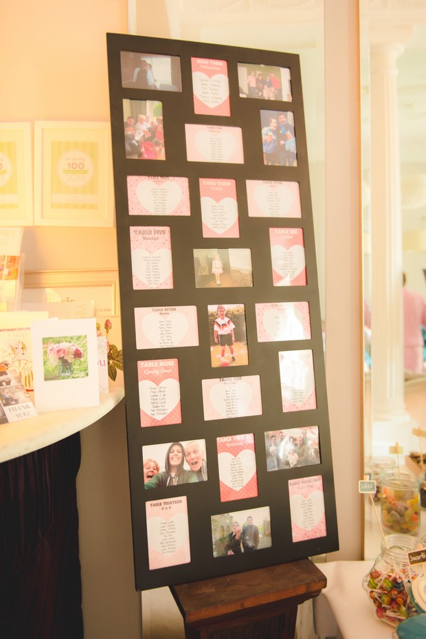 cute-wedding-table-chart-display-personal-photos-board (2)