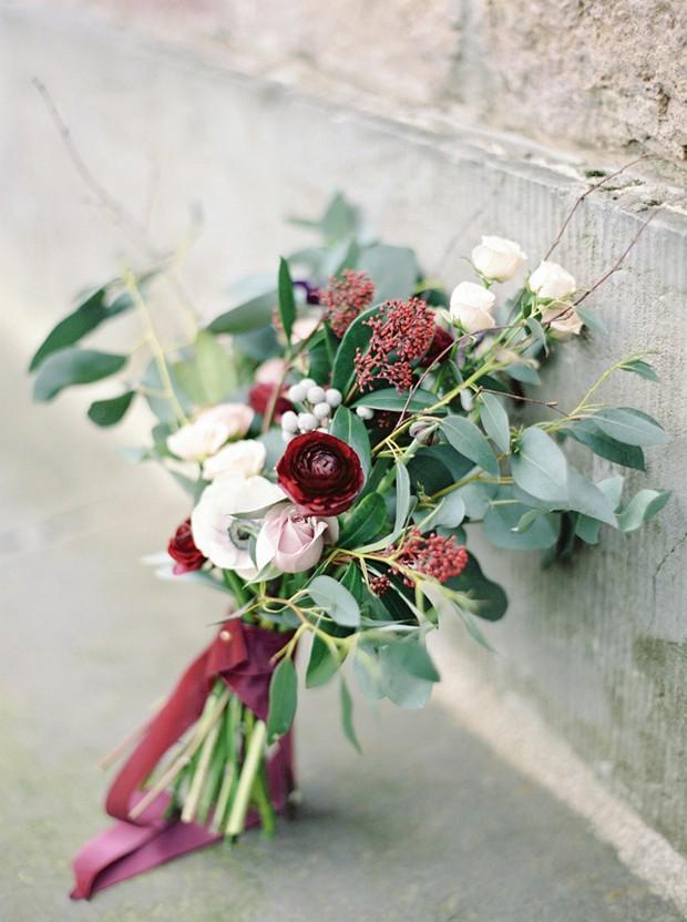 Hand Tied Autumn Wedding Bouquet Bella Botanica Flowers